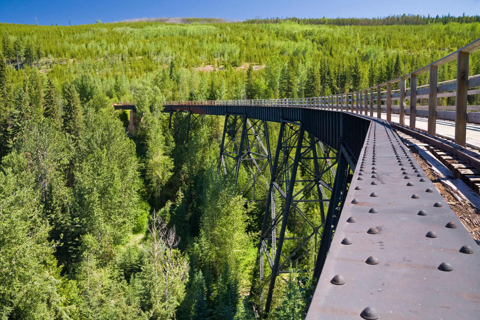 Visit local attractions such as the Kettle Valley Railway (KVR) when you stay at one of the best hotels in Kelowna on Highway 97.